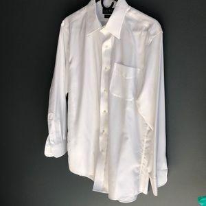 Ralph Lauren Non-Iron Slim Fit Dress Shirt (white)